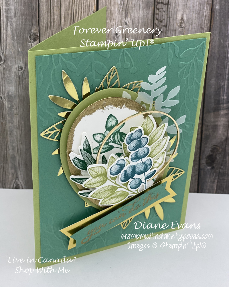 Stampin With Diane Forever Greenery Stampin' Up