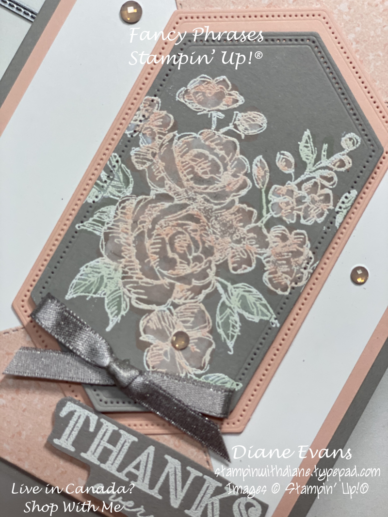 Stampin With Diane Evans Fancy Phrases SU1
