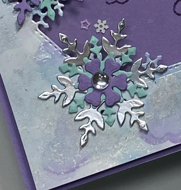Stampin With Diane Evans Snowflake Splendor Polished Stone