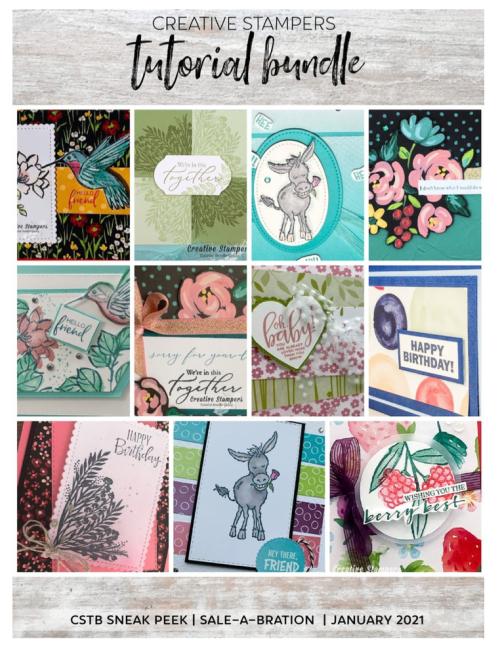 Creative Stampers Saleabration