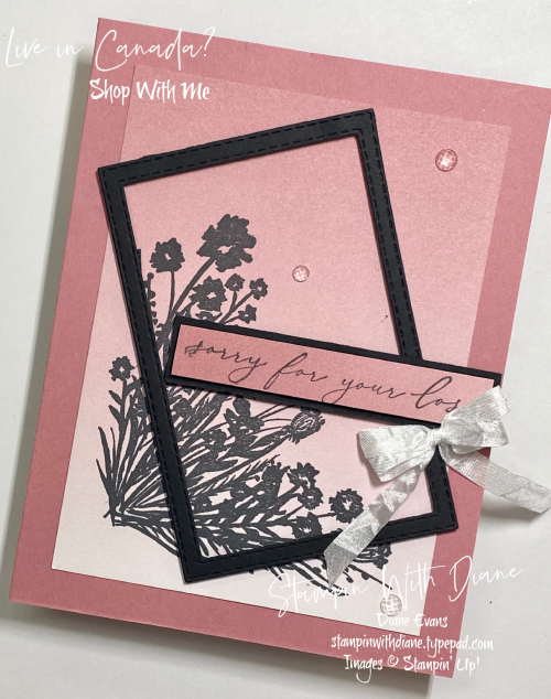 Bouquet Corner Stampin' Up! Stampin With Diane Evans