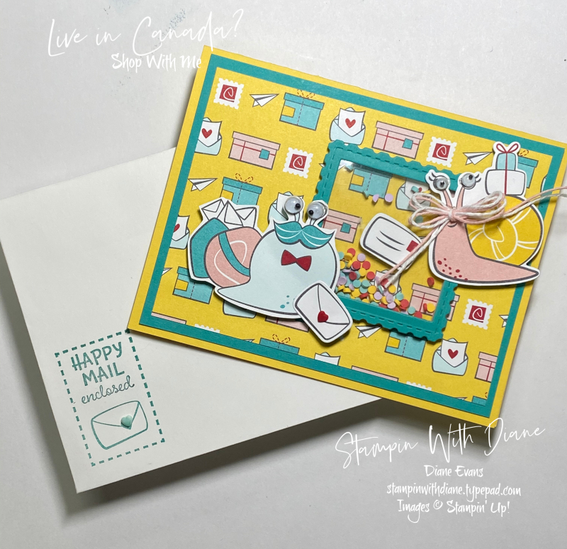 Snailed It Stampin' Up! Stampin With Diane Evans