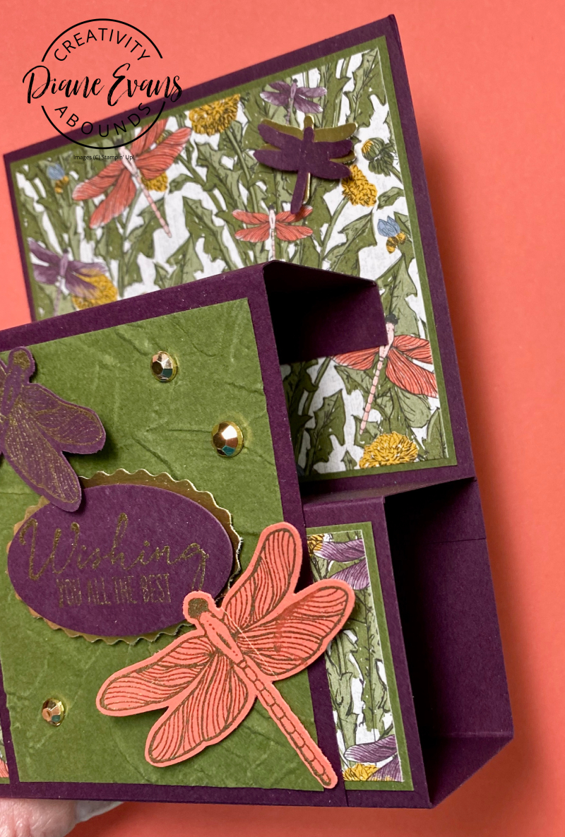 Dragonfly Wishes SU STampin With Diane Evans