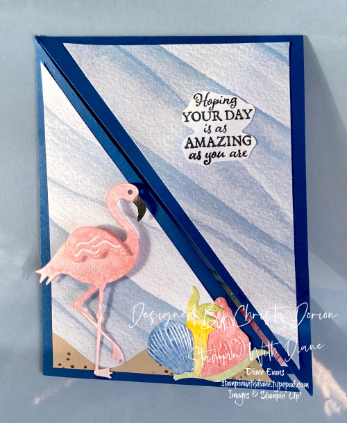 Friendly Flamingo Stampin Up Stampin with Diane Evans