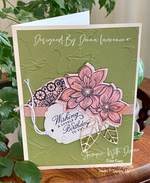 Delicate Petals STampin' Up Stampin With Diane Evans T