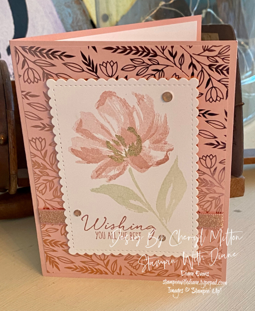 Art Gallery Stampin Up Stampin With DianeEvans T2