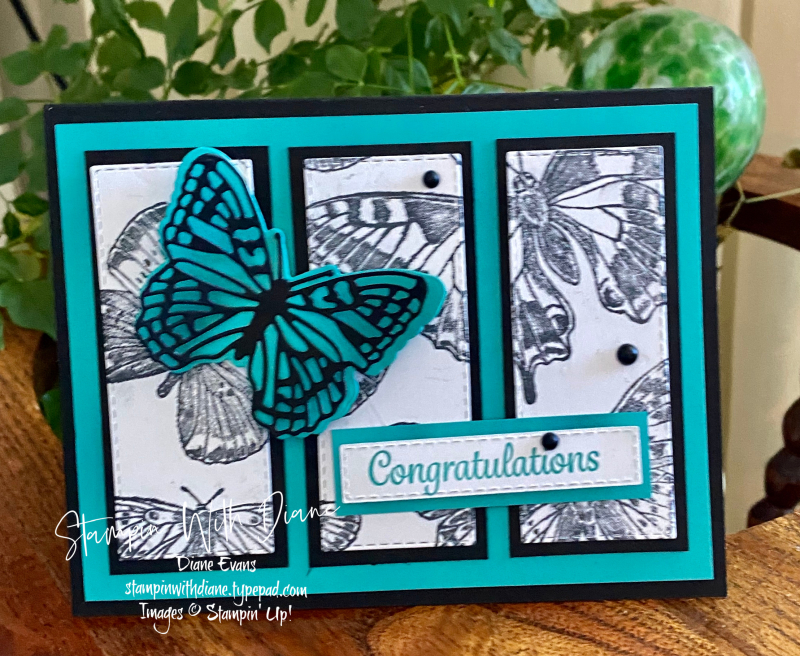 Butterfly Brilliance Stampin' Up! Stampin With Diane Evans