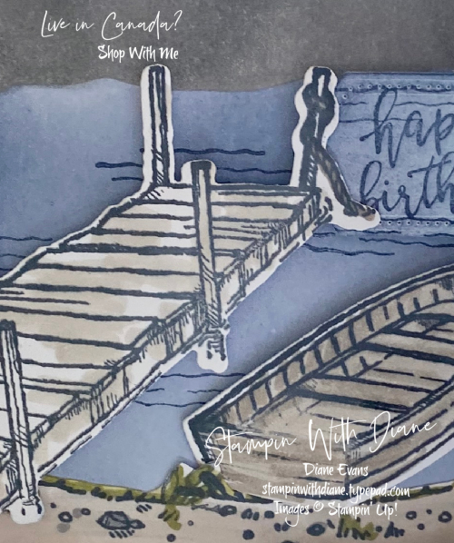By The Docks Stampin Up! Stampin With Diane Evans