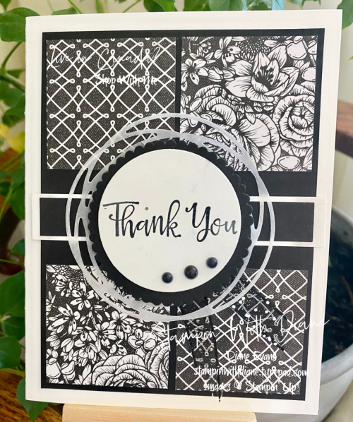 True Love DSP Stampin' Up Stampin With Diane Evans