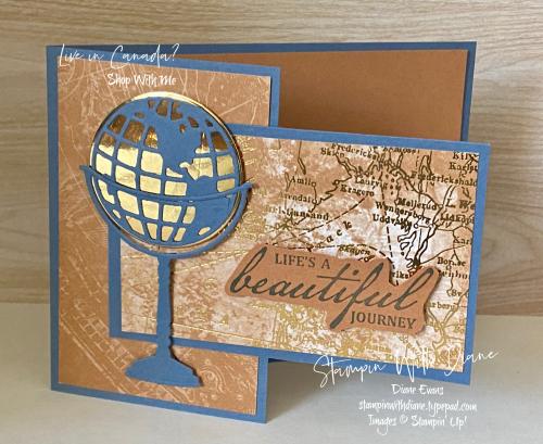 Beautiful World Stampin' Up! Stampin With Diane Evans