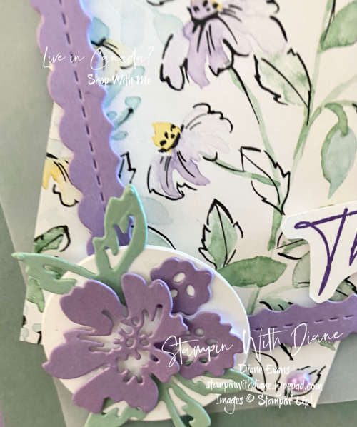 Hand Penned Stampin' Up! 6 Stampin With Diane Evans