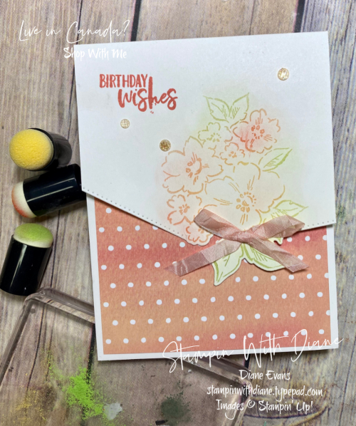 Hand Penned PP Stampin' Up! Stampin With Diane Evans
