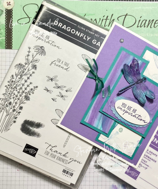Dragonfly Gardens  Stampin With Diane Evans