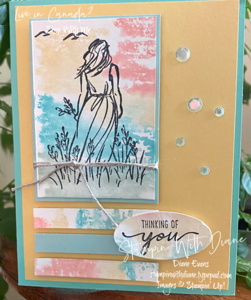 Beautiful Moments Stampin up Stampin With Diane Evans