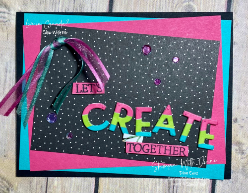 Create With Friends Stampin Up Stampin With Diane Evans