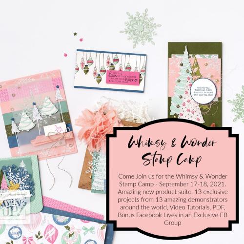 Whimsy & Wonder Stamp Camp