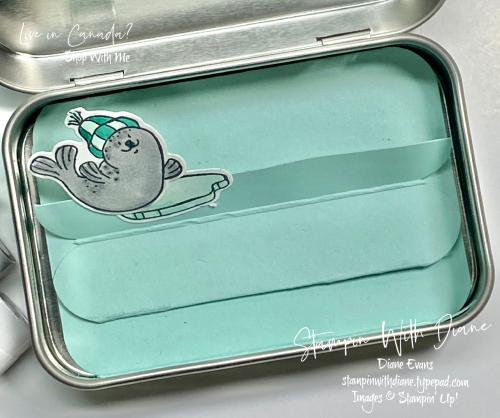 Stampin With Diane Evans Freezin Friends Inside
