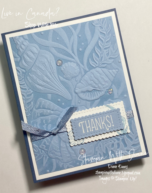 Sand and Sea Stampin' Up! Stampin With Diane Evans