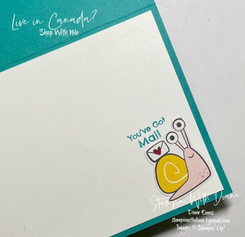 Snailed It Stampin' Up Stampin With Diane Evans 3