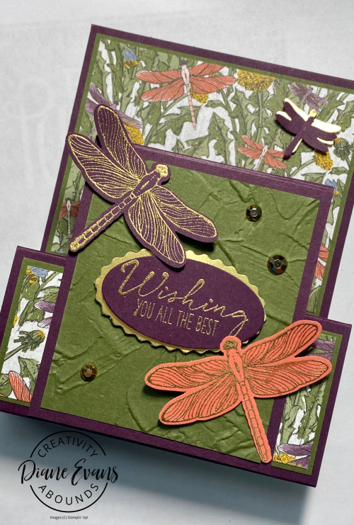 Dragonfly Wishes Stampin' Up Stampin With Diane Evans 5