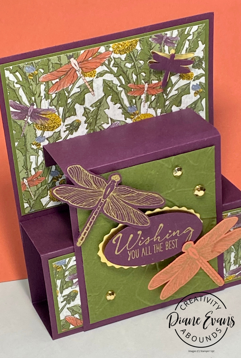 Dragonfly Wishes Stampin' Up! Stampin With Diane EVans 4