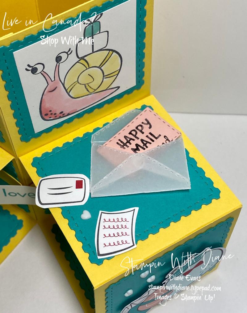 Snail Mail Stampin up Stampin With Diane Evans 7