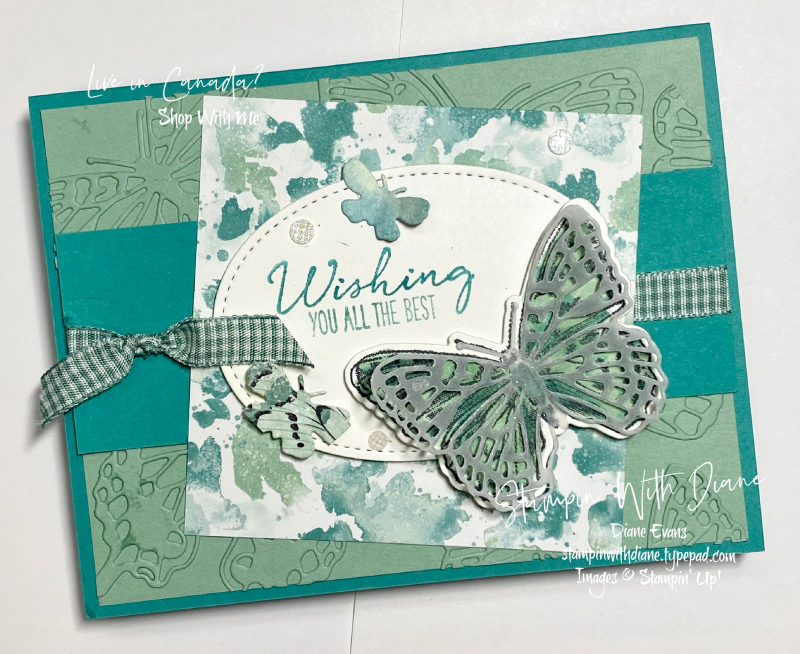 Butterfly Brilliance Stampin' Up! Stampin With Diane Evans A