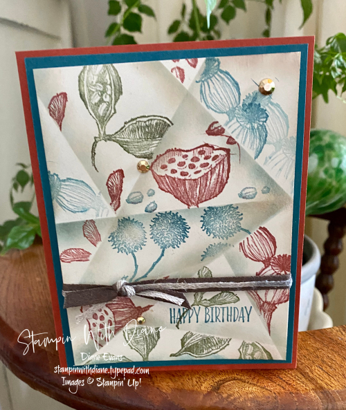 Enjoy The Moment STampin Up Stampin With Diane Evans