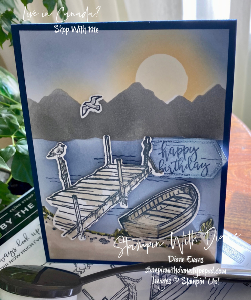 By the Doccks Stampin' Up! Stampin With Diane Evans