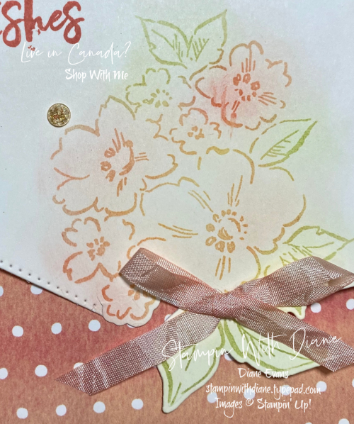Hand Penned PP Sampin' Up!! Stampin With Diane Evans