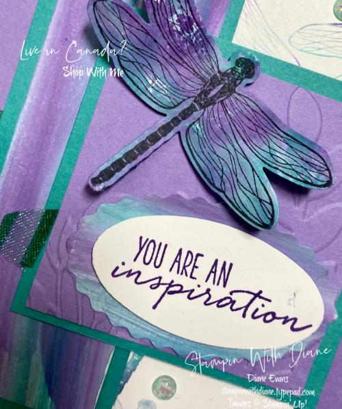 Dragonfly Garden Stampin' Up! Stampin With Diane Evans
