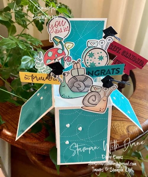 Snail Mail Stampin' Up Stampin With Diane Evans