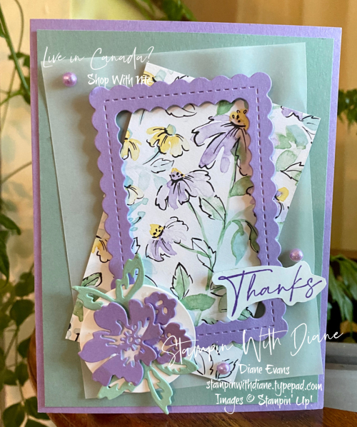 Hand Penned Stampin' Up! 4 Stampin With Diane Evans