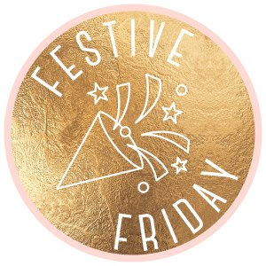 Festive Friday Badge used to link